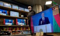 Europos transliuotojų sąjunga suspendavo Baltarusijos valstybinį transliuotoją