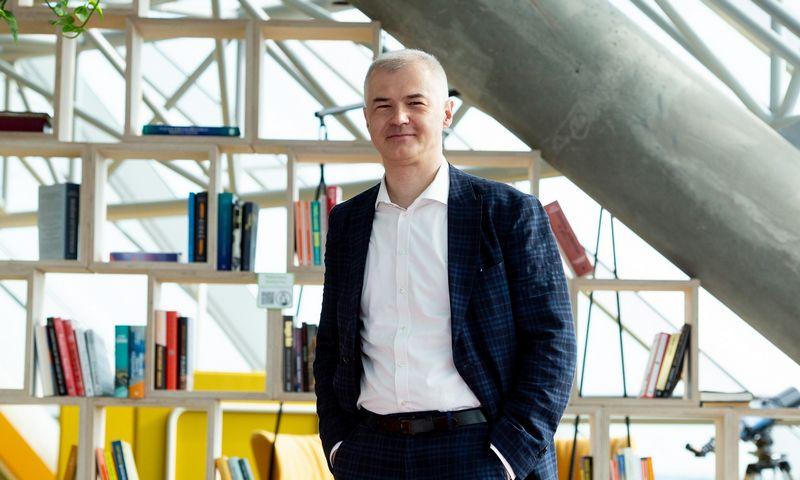 """Lionginas Šepetys, """"SBA Urban"""" valdybos pirmininkas. Vladimiro Ivanovo (VŽ) nuotr."""