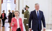 EK pirmininkė žada paramą Lietuvai dėl išaugusios nelegalios migracijos per Baltarusiją