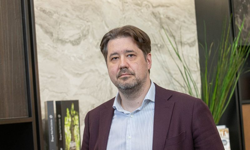 """Tomas Milaknis, investuotojas ir verslo konsultantas, UAB """"TM Invest"""" įkūrėjas. Juditos Grigelytės (VŽ) nuotr."""