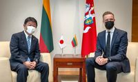 Nuo Kinijos nusisukanti Lietuva pavadino Japoniją svarbiausia partnere Azijoje