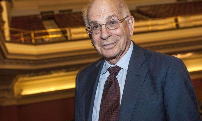 """Ekonomikos Nobelio premijos laureatas Danielis Kahnemanas. """"vida press"""" nuotr."""