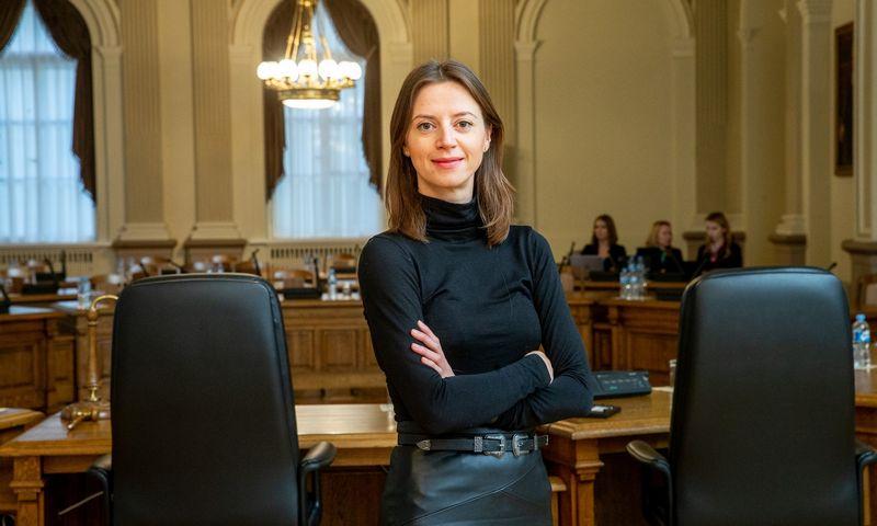 Jekaterina Govina, Lietuvos banko Priežiūros tarnybos direktorė. Juditos Grigelytės (VŽ) nuotr.