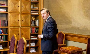 VU rektorius R. Petrauskas: aukšto lygio mokslas kainuoja labai brangiai
