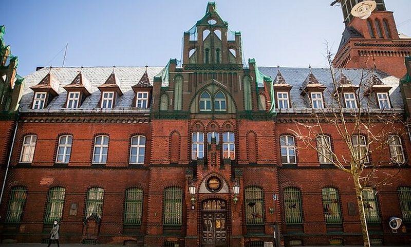 Klaipėdos karališkojo pašto komplekso dalis. wikipedia.nuotr.