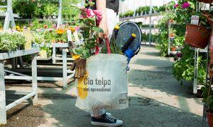 """""""Kesko Senukai"""" pasiūlė tvarią pirkinių maišelių alternatyvą"""