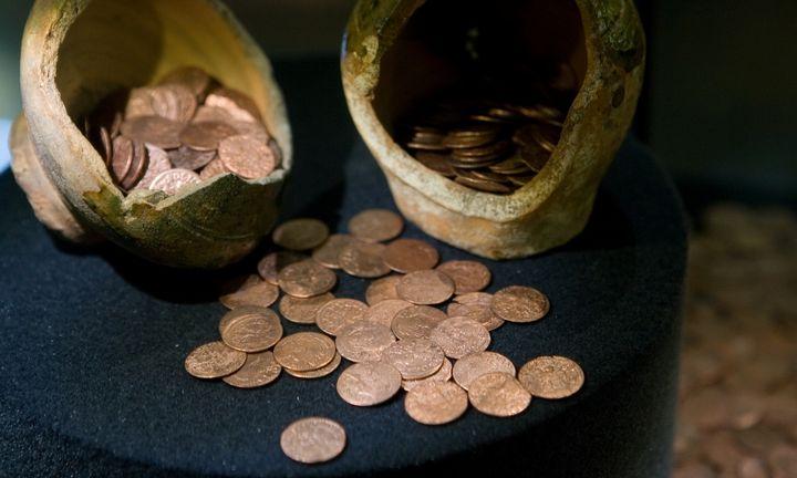 Vilniaus rajone rastas Jogailos laikų monetų lobis