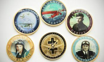 Medalių kolekcijoje – Lietuvos aviacijos istorija