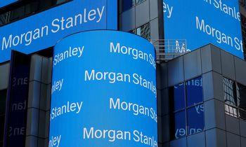"""""""Morgan Stanley"""" neišsiskiria: rezultatai taip pat viršijo analitikų lūkesčius"""