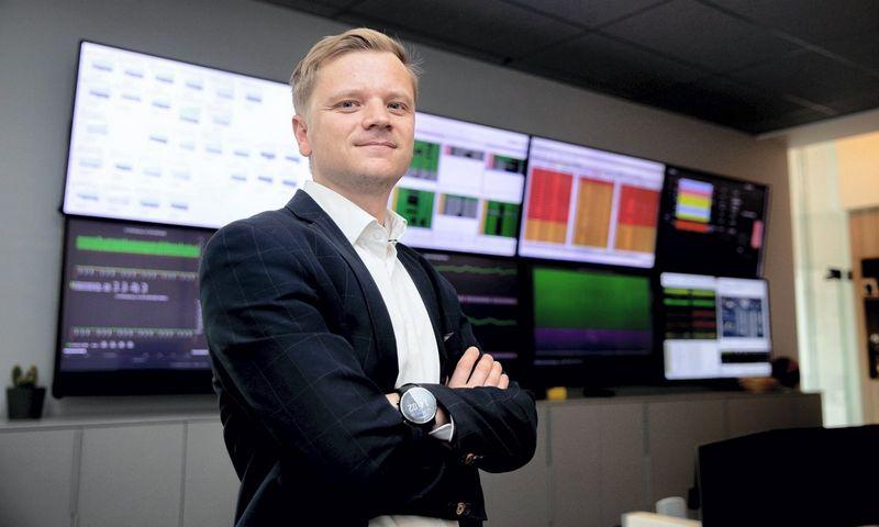 """""""Bitė Lietuva"""" technologijų vadovas Gintas Butėnas."""