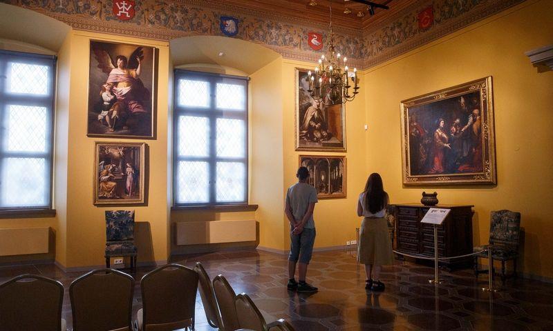 Prano Kiznio paveikslų galerija Valdovų rūmuose. Juditos Grigelytės (VŽ) nuotr.
