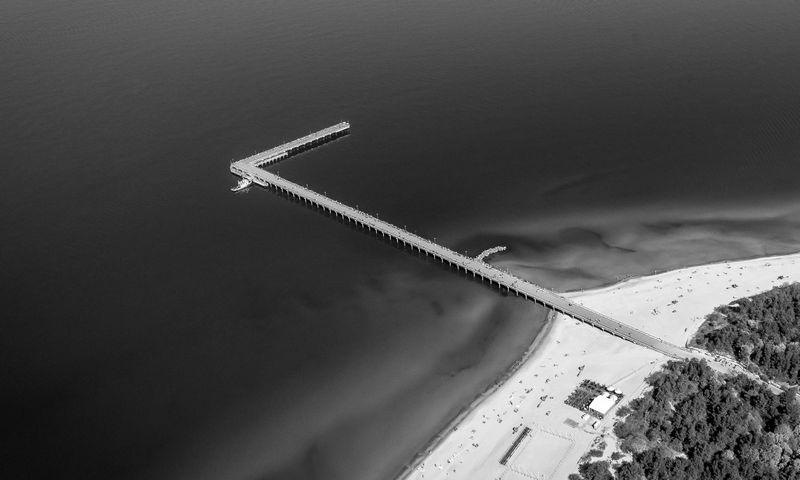 Palangos tiltas. Norbert Tukaj nuotr.
