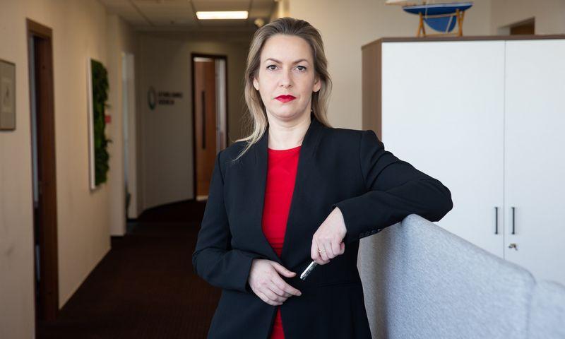 Eivilė Čipkutė, Lietuvos bankų asociacijos prezidentė. Vladimiro Ivanovo (VŽ) nuotr.