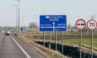 """""""Via Baltica"""" kelyje netoli Rygos atsiras naujas aplinkkelis-autostrada"""