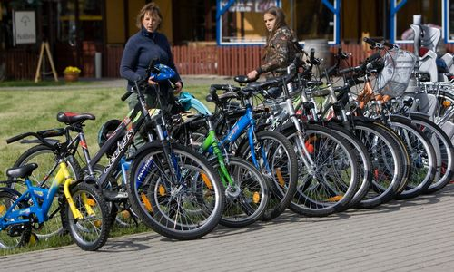 Paskelbtas viešasis pirkimas dviračių tako Kuršių nerijojeprojektui