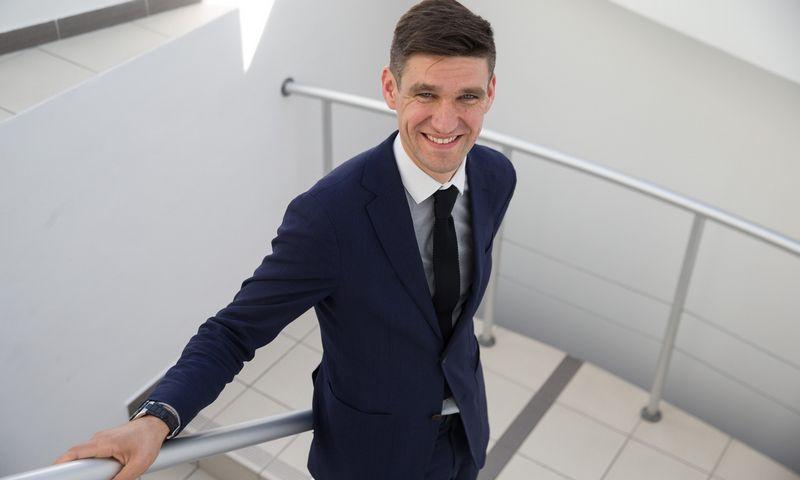 Simonas Krėpšta, paskirtasis Lietuvos banko valdybos narys.   Vladimiro Ivanovo (VŽ) nuotr.