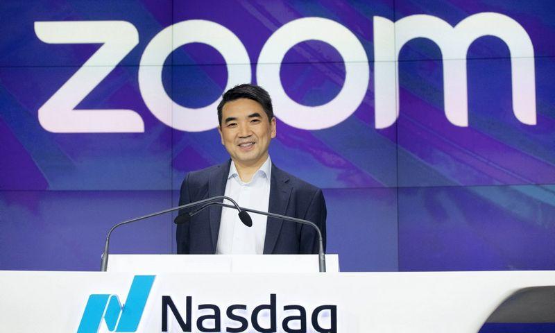 """Ericas Yuanas, """"Zoom"""" įkūrėjas ir vadovas. Marko Lennihano (""""Scanpix"""" / """"AP Photo"""") nuotr."""