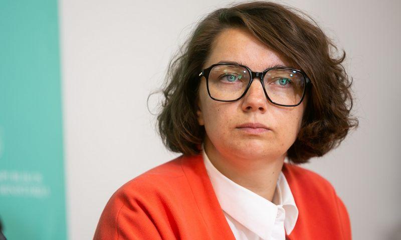 """Aurelija Vernickaitė, Valstybės saugumo departamento (VSD) atstovė spaudai. Žygimanto Gedvilo (""""15min.lt"""" / """"Scanpix"""") nuotr."""