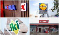 Mažmeninė prekyba maistu: trys įmonėsiš 4-iųdirbo pelningai