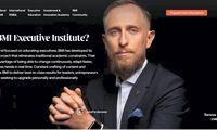 """Tarptautinis """"BMI Executive Institute"""" investavoį vizualinį identitetą"""