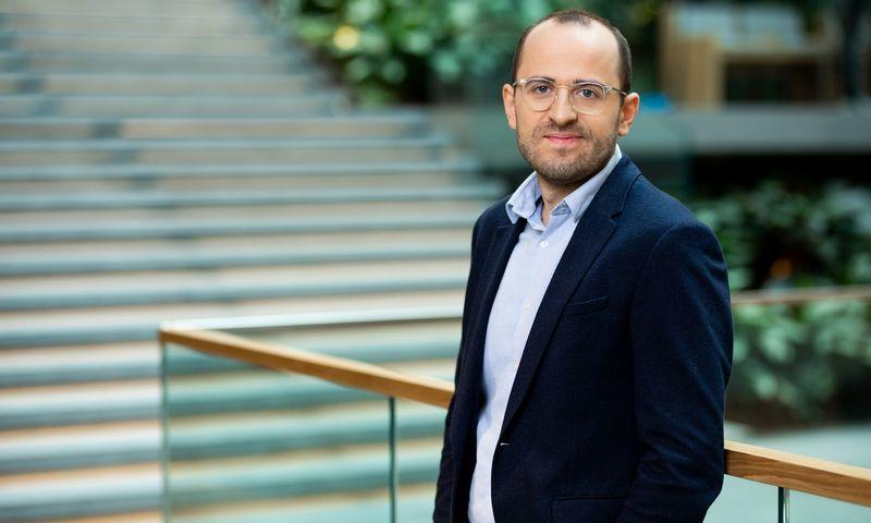 Audrius Rutkauskas, SEB banko Lietuvoje tvarumo vadovas. Bendrovės nuotr.