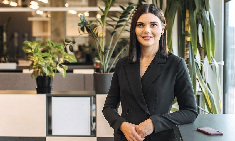Dovilė Sukackaitė-Bolienė, Šiaulių banko personalo projektų vadovė.