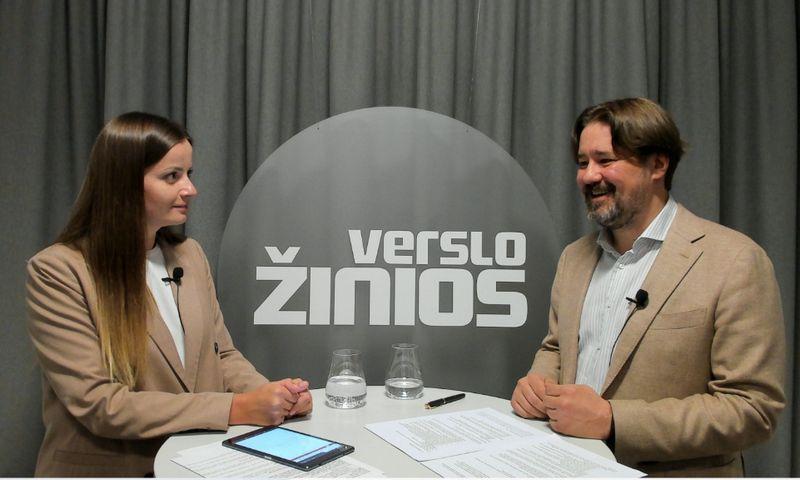 """Tomas Milaknis, investuotojas, verslo konsultantas, Gabija Sabaliauskaitė, VŽ """"Gazelės"""" rubrikos redaktorė."""