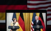 Vašingtono ir Berlyno suokalbis: ar Ukraina bus palikta vilkams?
