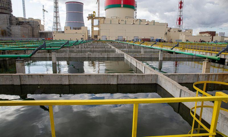 Baltarusijos atominė elektrinė Astrave. Vladimiro Ivanovo (VŽ) nuotr.