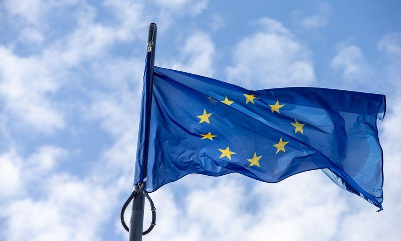 Europos sąjungos vėliava. Juditos Grigelytės (VŽ) nuotr.