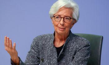 Ketvirtadienį – svarbi ECB spaudos konferencija
