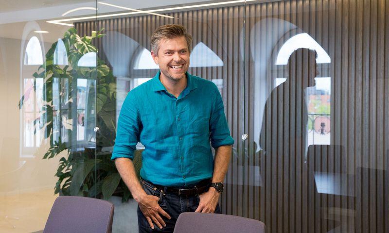 """""""Nextury Ventures"""" bendraįkūrėjas ir valdybos pirmininkas Ilja Laursas. Juditos Grigelytės (VŽ) nuotr."""