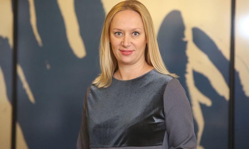 """Lina Minkė, """"Deloitte"""" mokesčių ir teisės departamento vadovė Lietuvoje.  Vladimiro Ivanovo (VŽ) nuotr."""