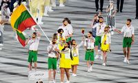 Tokijoolimpinės žaidynės oficialiaiatidarytos