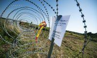 VRM viceministras: užtvaros statybos stringa trūkstant medžiagų, prašoma užsienio pagalbos