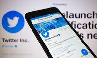 """""""Twitter""""antrąjį ketvirtį pajamas augino sparčiausiai nuo 2014 m."""