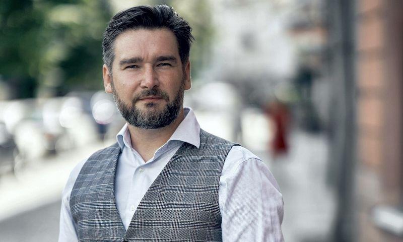 """Gintaras Gimžauskas, """"Nova media"""" partneris. Įmonės nuotr."""