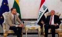 G. Landsbergis vėl paragino Irakąspręsti oro susisiekimo su Minsku problemą