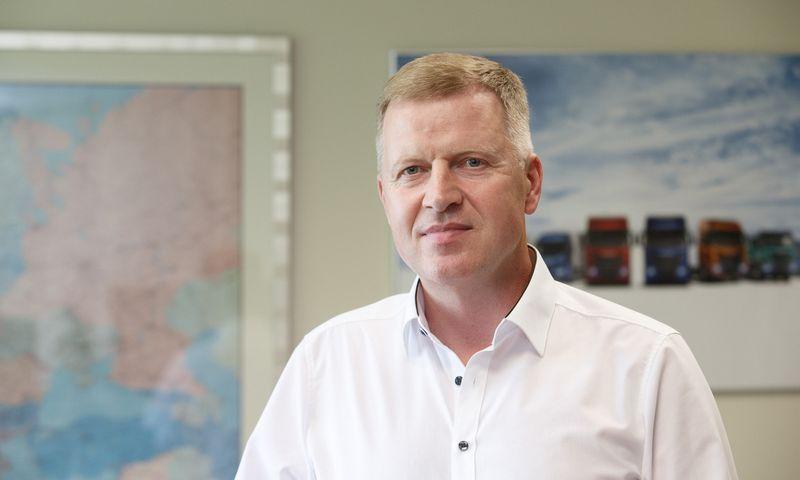 """Ernestas Jakubonis, """"Iveco S.p.A."""" atstovybės vadovas Baltijos šalyse. Juditos Grigelytės (VŽ) nuotr."""