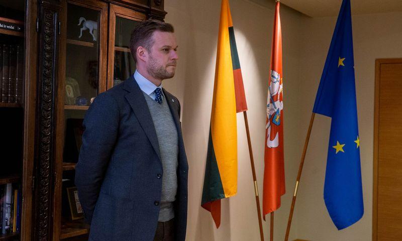 Gabrielius Landsbergis, Užsienio reikalų ministras. Juditos Grigelytės (VŽ) nuotr.