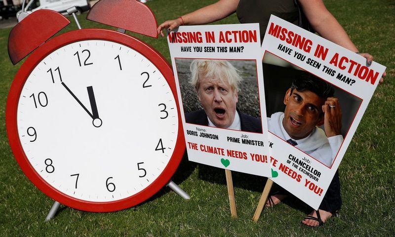 """Britai ragina valdžią imtis veiksmų dėl klimato kaitos. Peter Nicholls (""""Scanpix/"""" """"Reuters"""") nuotr."""