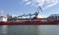 Krova Klaipėdos uoste pirmąjį pusmetį išliko stabili