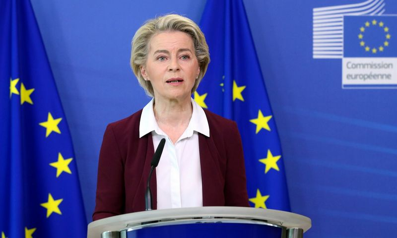"Ursula von der Leyen, Europos Komisijos pirmininkė. Francois Walschaerts (""AP"" / ""Scanpix"") nuotr."