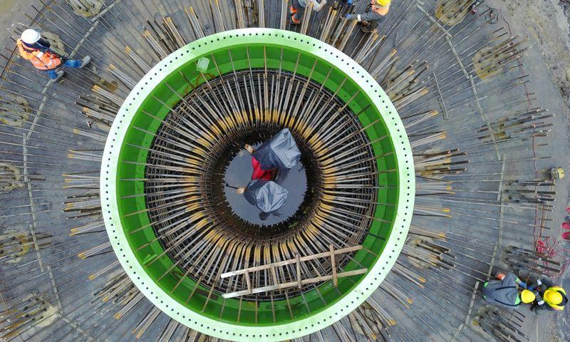 Vėjo jėgainės. Aivaro Stumbro nuotr.