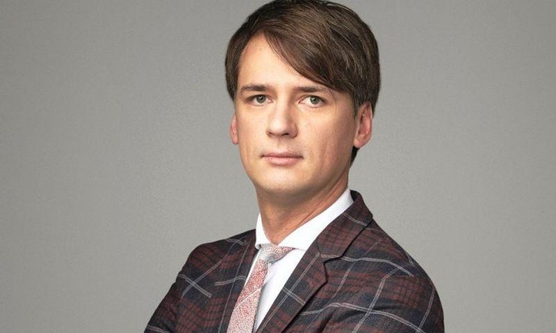 """Advokatų kontoros """"Glimstedt"""" vyresnysis teisininkas Justinas Poderis."""