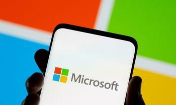 """""""Microsoft"""" metų pajamos ir pelnas – rekordiniai"""