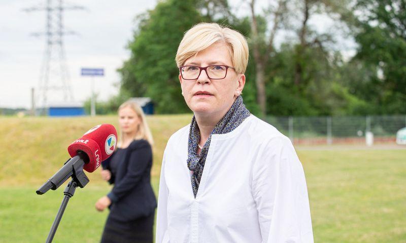 Ingrida Šimonytė, ministrė pirmininkė. Juditos Grigelytės (VŽ) nuotr.