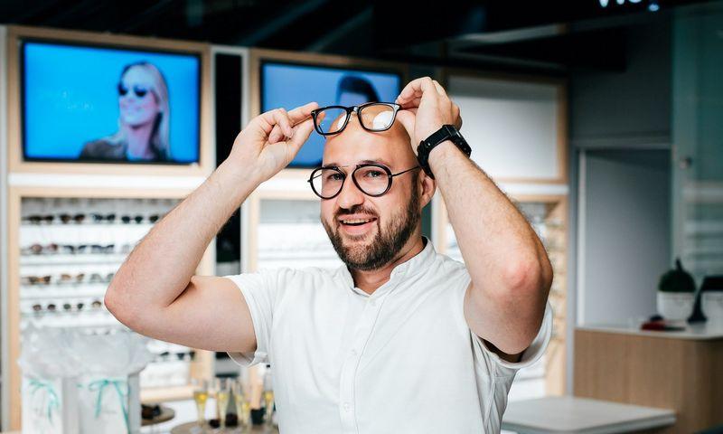 """Arūnas Vismantas, """"Smart Vision"""" įkūrėjas ir CEO. Bendrovės nuotr."""