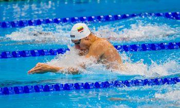 Plaukikas A. Šidlauskas į finalą nepateko