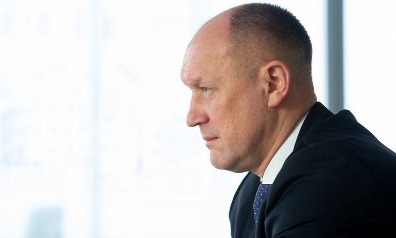 "UAB ""YIT Lietuva"" vadovas Kęstutis Vanagas. Juditos Grigelytės (VŽ) nuotr."